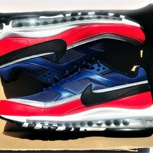 Nike Air Max 97/BW USA Olympics Blue Red Silver